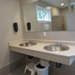 New washrooms Saratoga Beach Resort